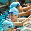 Amphibious Achievers swiming
